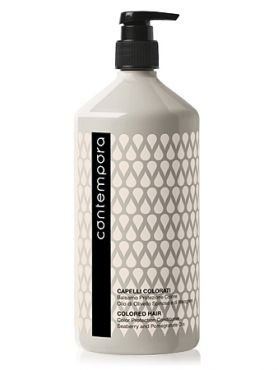 Кондиционер для сохранения цвета с маслом облепихи и маслом граната